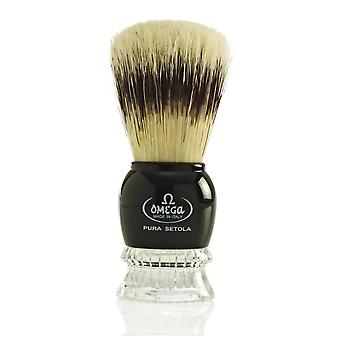 Omega 10275 Ren Bristle Shaving Brush