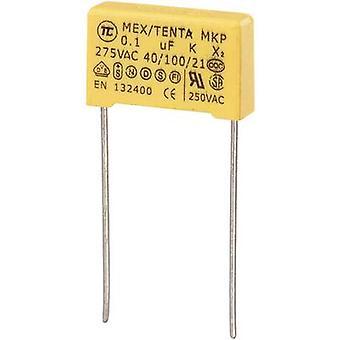 TRU COMPONENTS MKP-X2 1 Stk.(s) MKP-X2 Unterdrückungskondensator Radialblei 0,1 x F 275 V AC 10 % 15 mm (L x B x H) 18 x 5 x 11 mm
