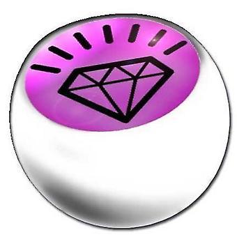 Piercing wymiana piłkę biały, biżuteria ciała, Diamond | 1,6 x 5 i 6 mm