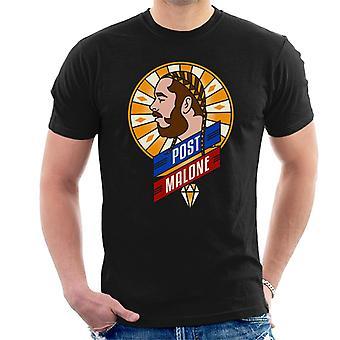 Post-Malone Retro Herren T-Shirt