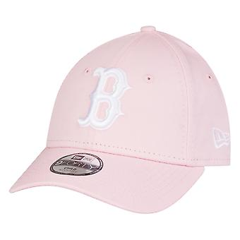 New era 9Forty kids Cap - Boston Red Sox bright pink