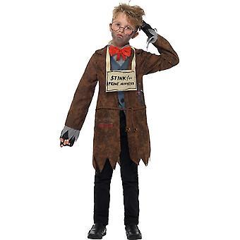 David Walliams Deluxe traje hedor de Señor, vestido de lujo, pequeño edad 4-6