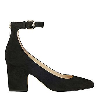 Marc Fisher Womens Anisy2 Fabric Square Toe Ankle Wrap Classic Pumps