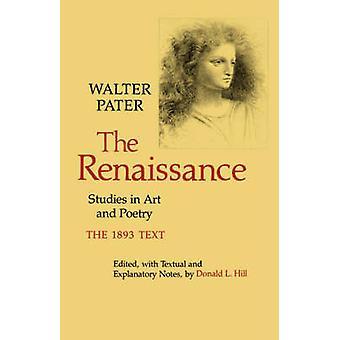 Ренессанс - Исследования в области искусства и поэзии Уолтера Патера - 97805200