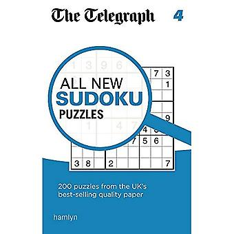 The Telegraph All New Sudoku Puzzles 4 (The Telegraph Puzzle Books)