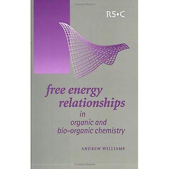 Fri energi relationer i organisk och Bio-organiska kemi