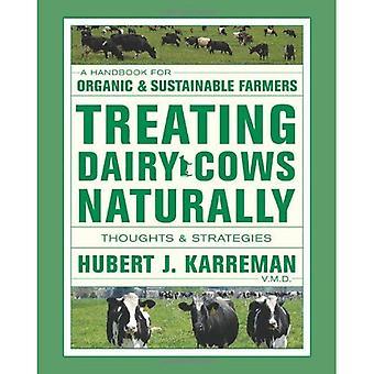 Trattamento naturalmente vacche da latte