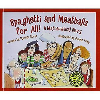 Spaghetti et boulettes de viande pour tous! une histoire des mathématique (bibliothèque scolastique: compétences en mathématiques)