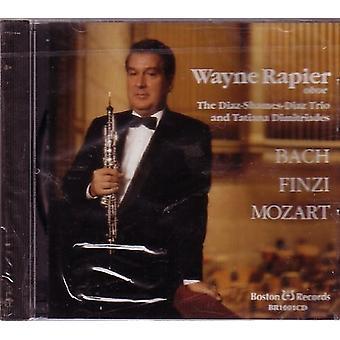 Bach/Finzi/Mozart - Wayne Rapier: Oboe [CD] USA import