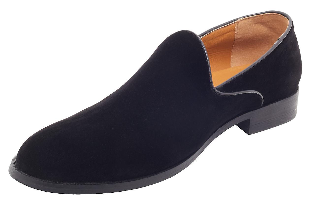 حذاء أون أون أون لندن رجالي أسود مخملي