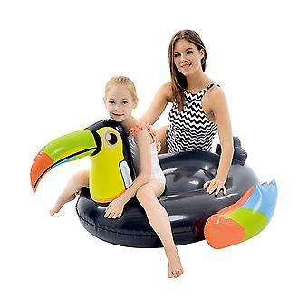 Jilong Giant Inflatable Toucan Pool Float Lounger Air Mattress Beach Toy