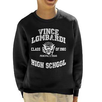 Vince Lombardi classe de 1980 Rock N Roll moletom de liceu