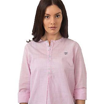Lighthouse Bayside Ladies Shirt Rose Pink Stripe
