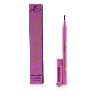 Sketch Marker Liquid Art Eyeliner - # Candy Pink - 0.45ml/0.015oz