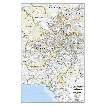Afghanistan and Pakistan by National Geographic Maps - 9781597752640