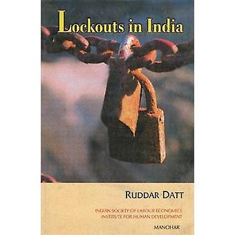 Lockouts in India by Ruddar Datt - 9788173045196 Book