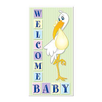 Tervetuloa vauvan oven suojus