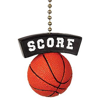 Basketball Score Decorative Ceiling Fan Light Dimensional Pull