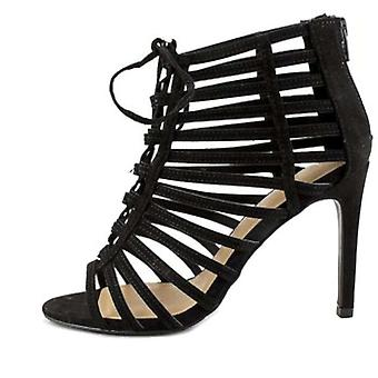 Material Girl Womens Raquel Open Toe Special Occasion Strappy Sandals