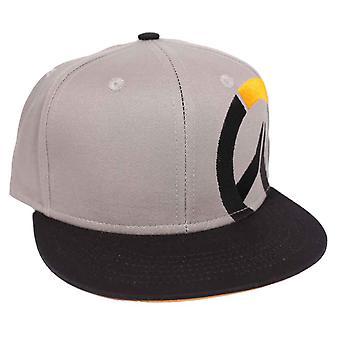 Overwatch baseball Cap Side Icon logo novo SnapBack cinza oficial