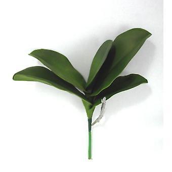 Artificial Phalaenopsis Leaf Spray