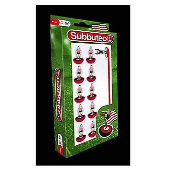 Subbuteo Table Football Generic Red - White Team