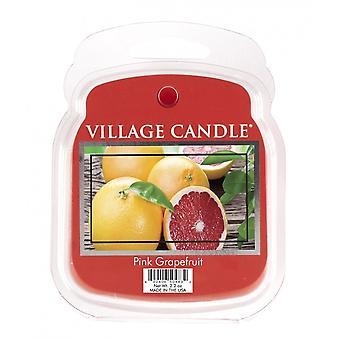 Dorf Kerze Wachs Schmelzpackungen für den Einsatz mit Schmelztorte & Ölbrenner rosa Grapefruit