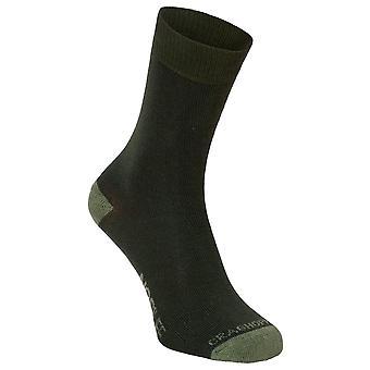 Craghoppers Parka Green Mens NosiLife Travel Sock