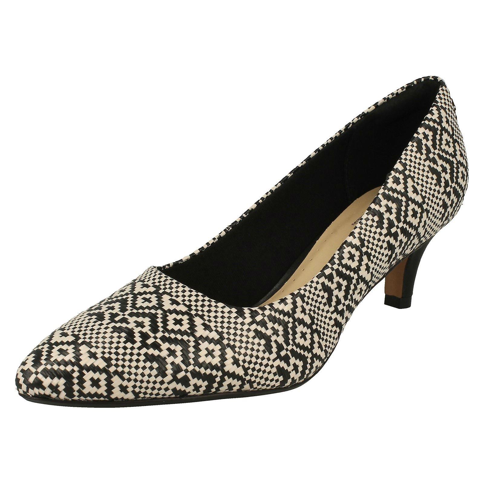 Ladies Clarks Pointed Toe Court Shoes Linvale Jerica qY6bM