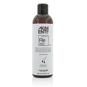 AlfaParf пигменты репаративной шампунь (для поврежденных волос) 200мл/6,76 oz