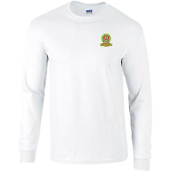 15ème 19ème Royal Kings Hussars Colour - Licensed British Army Embroidered Long Sleeved T-Shirt