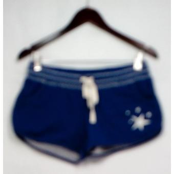 P.J. Salvage Pantaloncini Elastic Drawstring Waist Stampato Navy Blue