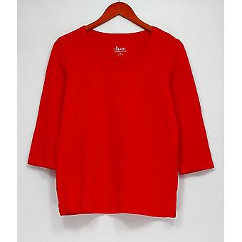 Top Essentials Perfect Jersey Cuello Redondo Rojo A213779