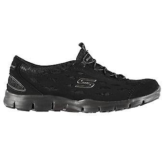 Skechers Damen Gratis CC Damen Trainer Sneakers Schuhe Sport laufen