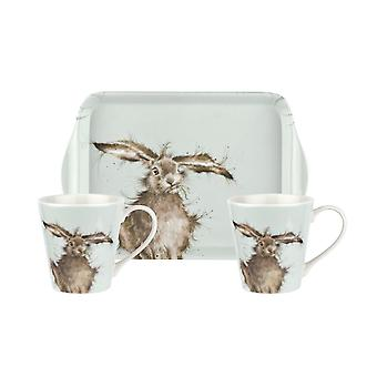 Wrendale Designs Mug and Tray Set Hare