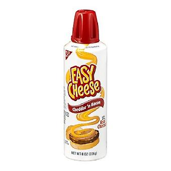 Kraft Easy Cheese Squeeze Can Cheddar 'n Sabor a Bacon