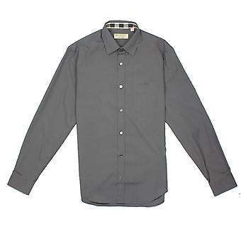 Burberry Cambridge pitkähihainen paita harmaa