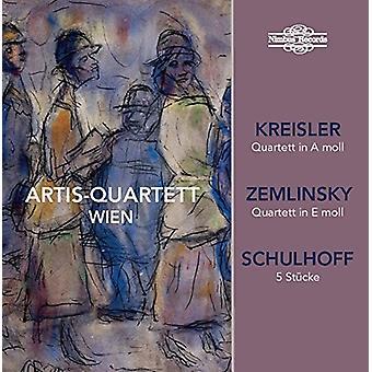 Kreisler / Schulhoff / Zemlinsky / Artis-Quartett - Wien joue Kreisler / import USA Zemlinsky & Schulhoff [CD]