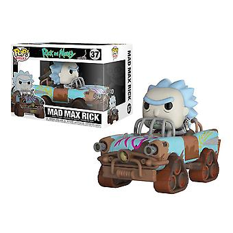 Rick och Morty Mad Max Premium Rick Funko pop figur