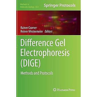 Differenz Gel Elektrophorese DIGE Methoden und Protokolle von Cramer & Rainer