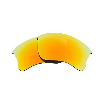Polarized Replacement Lenses for Oakley Half Jacket 2.0 Sunglasses Yellow Anti-Scratch Anti-Glare UV400 by SeekOptics