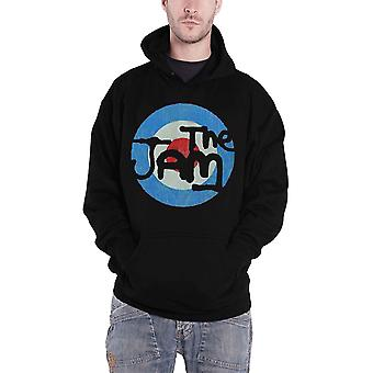 The Jam Target Logo Official Mens New Black Pullover Hoodie