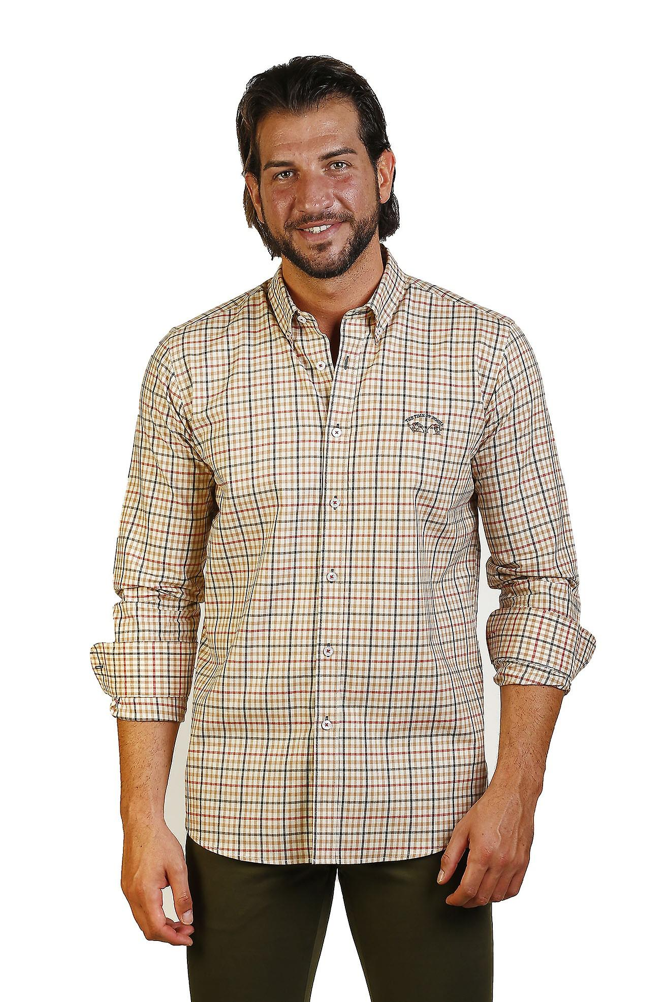 Camisa Hombre The Time Of Bocha JI1VILLELACAB-433 707