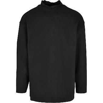 Urban Classics heren shirt met lange mouwen Peachte open Edge interlock winter