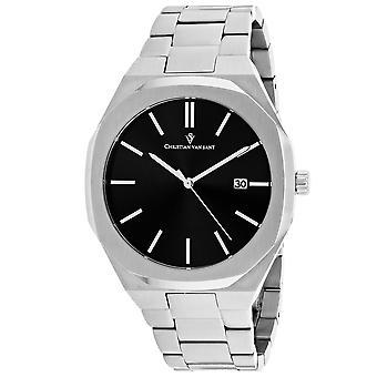 Christian Van Sant Men's Octavius Slim Black Dial Watch - CV0520