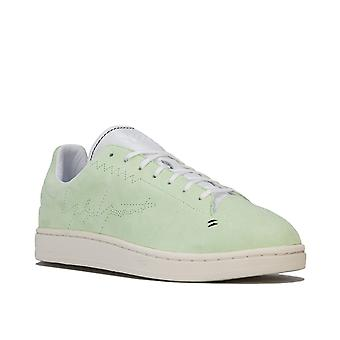 Mens Y-3 Yohji Court Trainers In Mint- Lace Fastening- Padded Collar- Cushioned