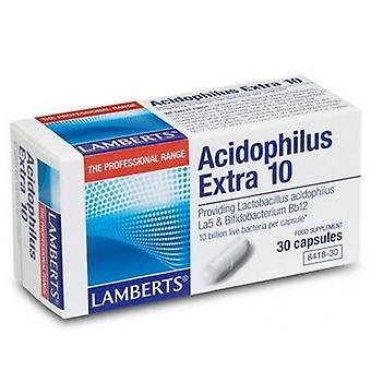 Lamberts Acidófilo Extra 10 Capules 30 (8418-30)