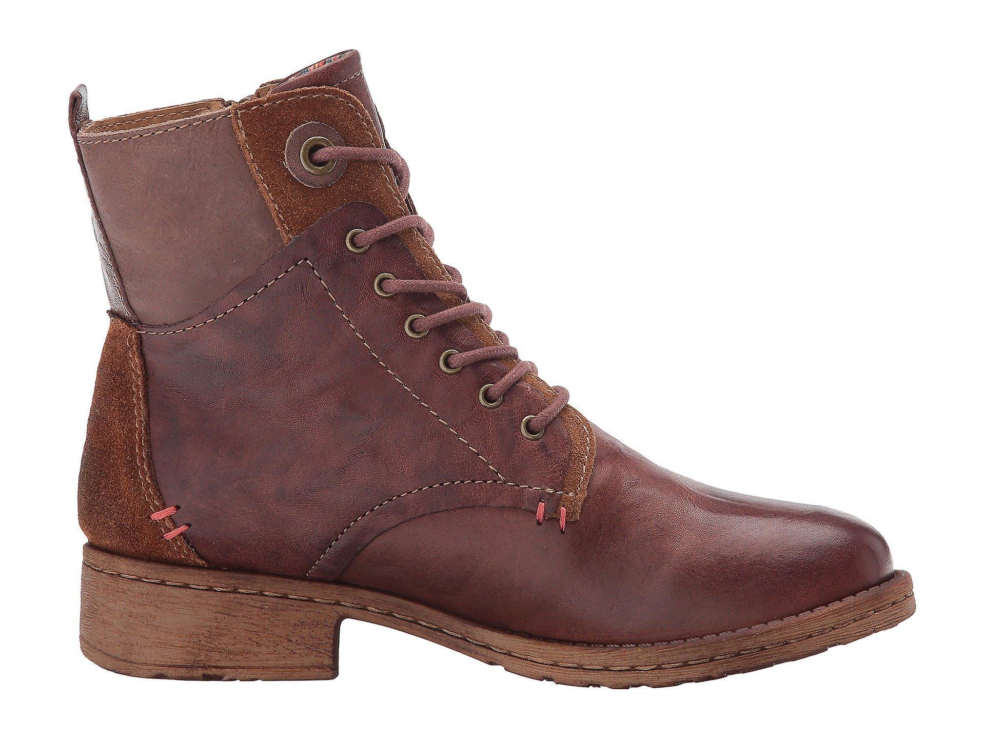 Comfortiva Kvinner Sarango Leather Lukket Tå Ankel Mote Støvler