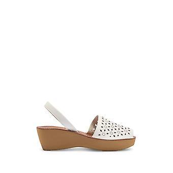 Kenneth Cole reaktion Womens Fine glass 5 tyg öppna tå casual kil sandaler