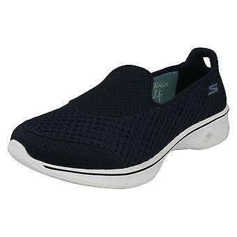 Wsuwane buty damskie Skechers pompy iść na spacer 4 Kindle 14145